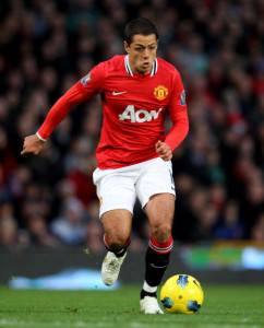 Javier Hernandez, bomber del Manchester United (Getty Images)