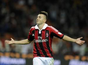 El Shaarawy esulta dopo un gol (Getty Images)