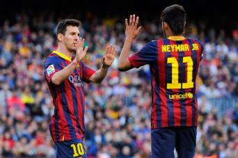 Messi e Neymar (Getty Images)