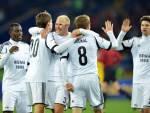 I giocatori del Rosenborg esultano dopo un gol (Getty Images)