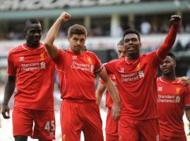 I giocatori del Liverpool esultano dopo un gol (Getty Images)
