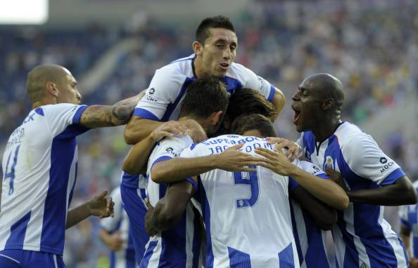 I giocatori del Porto esultano dopo un gol (Getty Images)