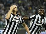Bonucci e Pogba esultano dopo un gol (Getty Images)