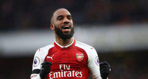 L'attaccante dell'Arsenal Lacazette