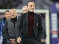 FLORENCE, ITALY - FEBRUARY 22: Stefano Pioli manager of AC Milan looks on during the Serie A match between ACF Fiorentina and AC Milan at Stadio Artemio Franchi on February 22, 2020 in Florence, Italy. (Photo by Gabriele Maltinti/Getty Images)